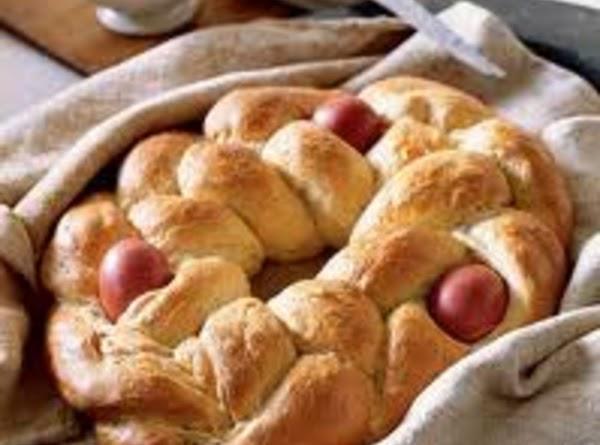 Tsoureki -easter Bread Recipe