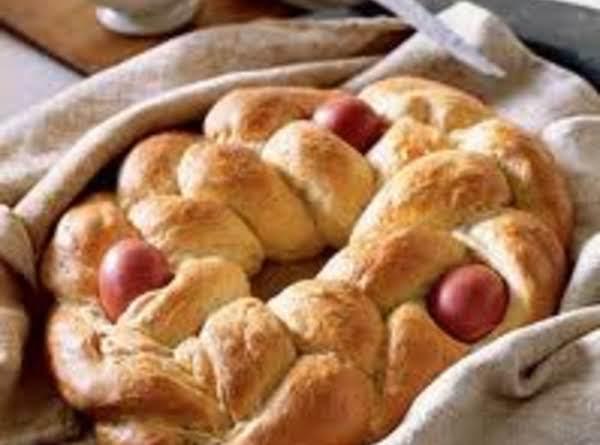 Tsoureki -easter Bread