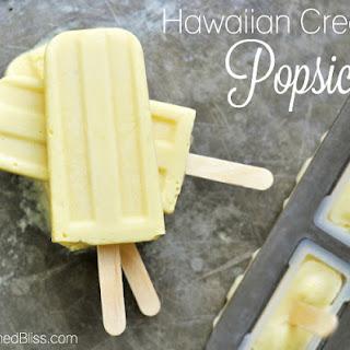 Hawaiian Cream Popsicles.