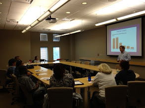 Photo: Mike Paim shares his expertise on social media marketing