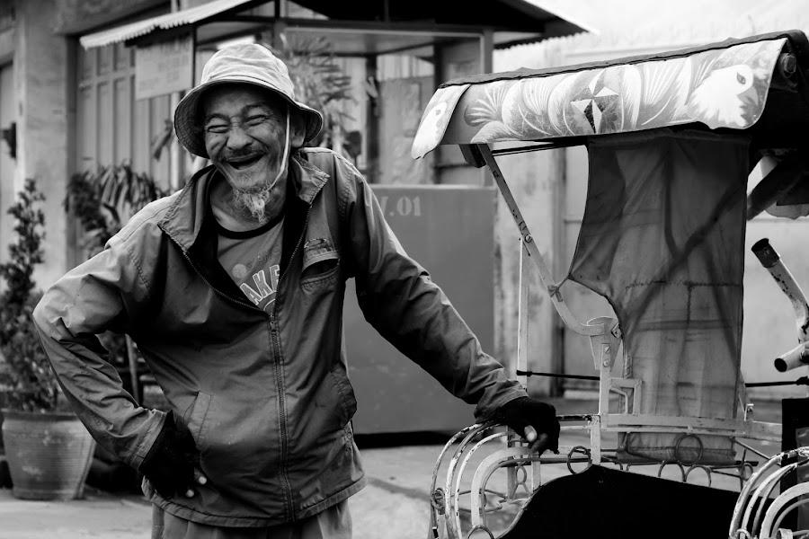 LOL Grandpa by Nugrahanto Raharjo - People Portraits of Men