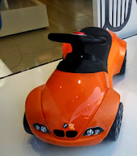 Photo: BMW kiddie car
