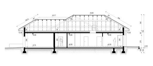 New House 8 - Przekrój