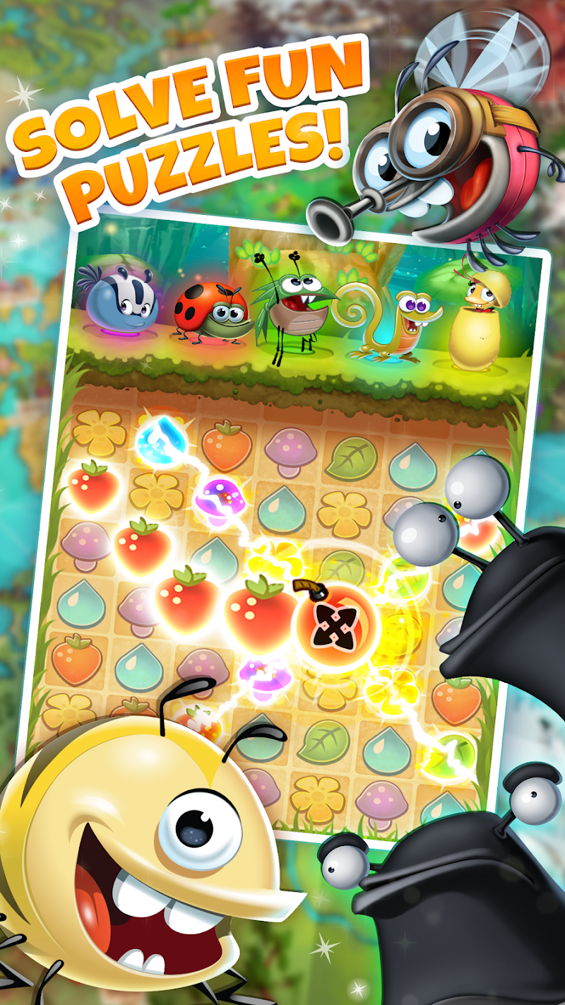 Best Fiends - Free Puzzle Game Screenshot 16