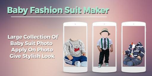 Baby Fashion Photo Suit 1.1 screenshots 1