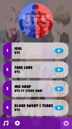 BTS Piano Tiles KPOP 2019 screenshot 2