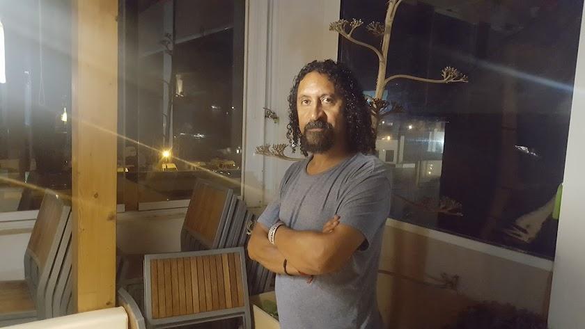 Alejandro Farace es el dueño y chef-asador del restaurante Martín Fierro.