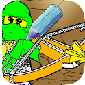 Coloring Book Ninja team icon