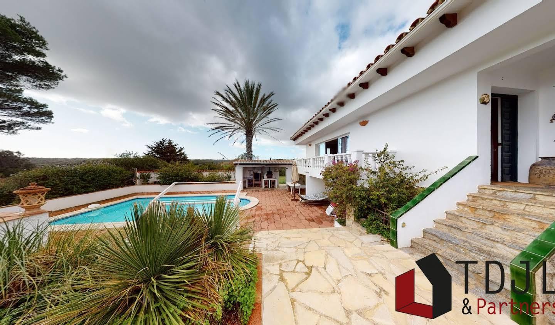 Villa avec piscine et terrasse Port Mahon