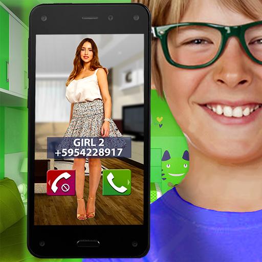 シミュレータ電話ジョーク 模擬 App LOGO-APP試玩