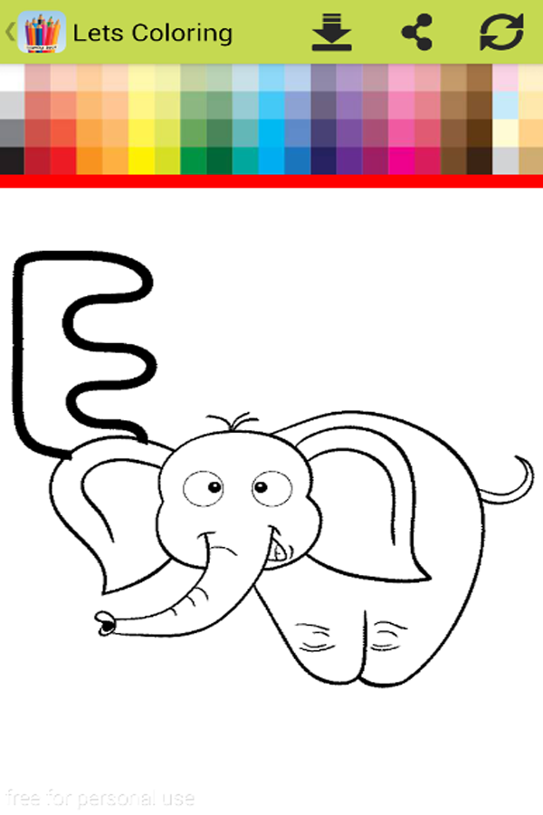 Children Coloring Book Screenshot