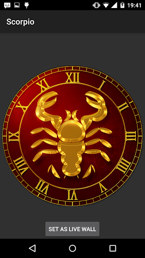 Scorpio Live Wallpaper Apk 10