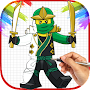 How To Draw Lego Ninja Go Characters APK icon
