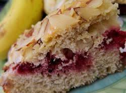 Jim's Raspberry Almond Coffee Cake Recipe