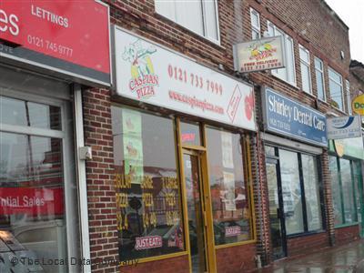 Caspian Pizza On Stratford Road Pizza Takeaway In Shirley