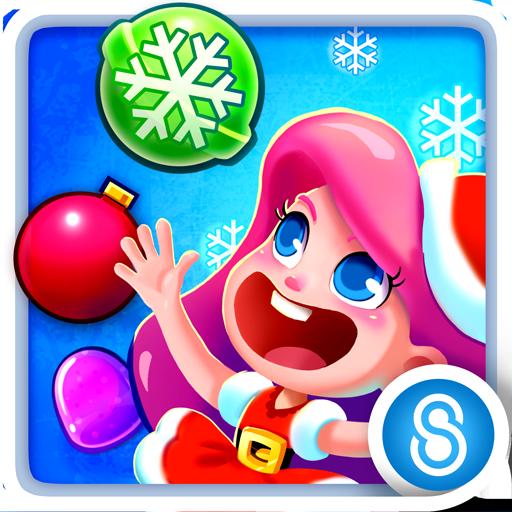 キャンディブラストマニア: クリスマス 街機 App LOGO-硬是要APP