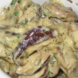 Creamy Mushrooms Recipe