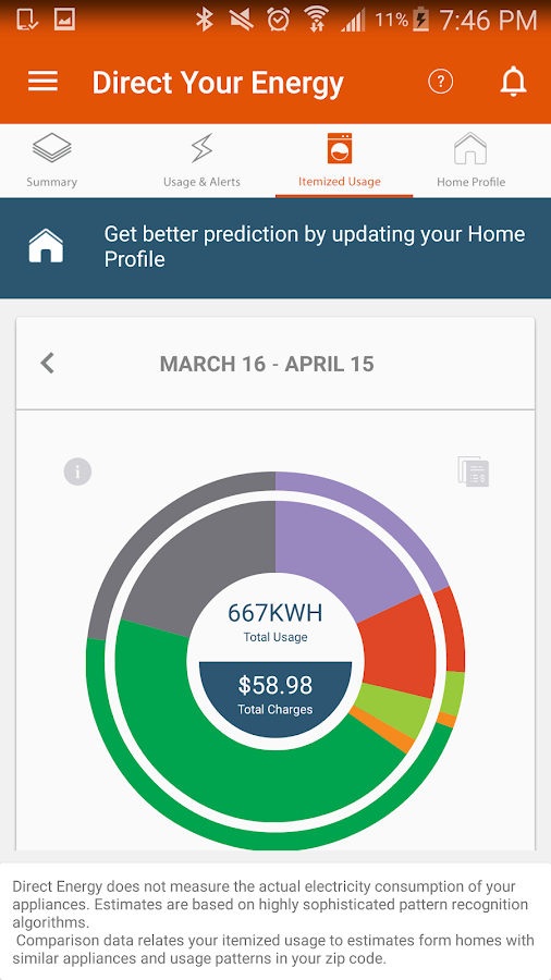 Direct Energy Account Manager- screenshot