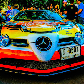 2011 Gumball 3000 AMG SLS by Connor Stueber - Transportation Automobiles