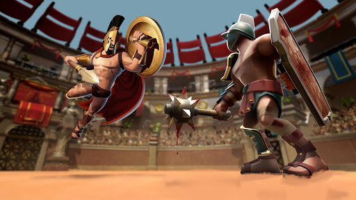 Gladiator Heroes - Fighting and strategy game screenshot