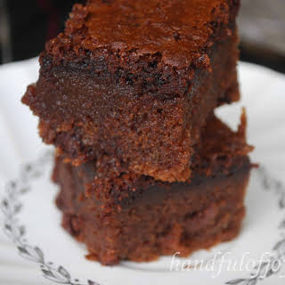 Chocolate Mochi Brownie.