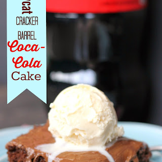 Copycat Cracker Barrel Coca-Cola Cake