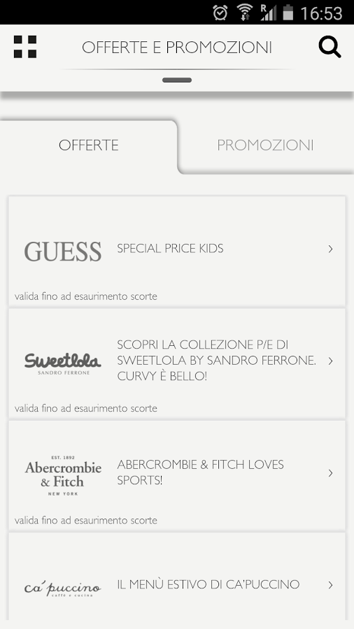 Sicilia Outlet Village- screenshot