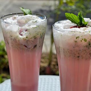 Strawberry Minty Smoothie