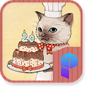 Cat Patissier Launcher Theme icon