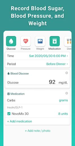 Health2Sync - Diabetes Care 1.12.11 screenshots 1