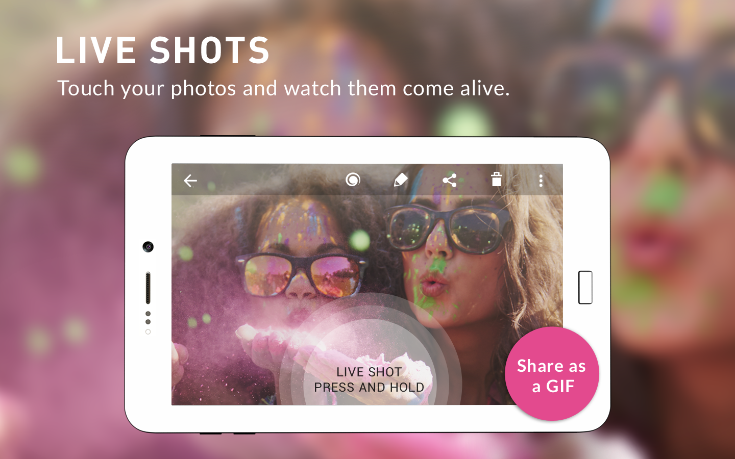 Camera MX - Foto, Video, GIF Kamera & Editor – Screenshot