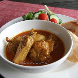 Singapore Main Dish – Curry Chicken.