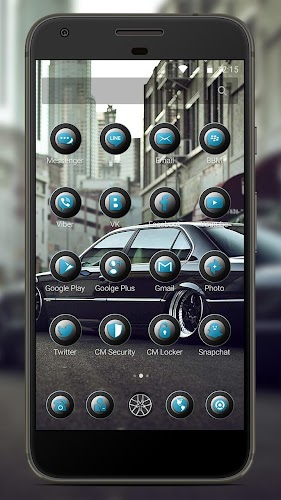Download BMV Black Bumer 7 Theme APK latest version app by