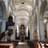 Hofkirche St. Leodegar in Lucerne, Lucerne, Switzerland