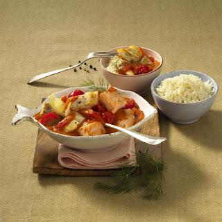 Tomato and Fish Stew.