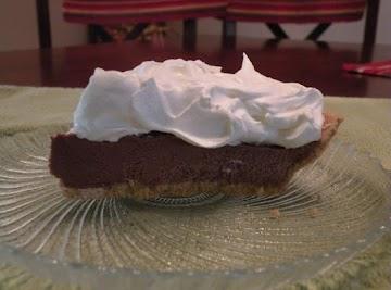 Cloud Nine Chocolate Pie Recipe
