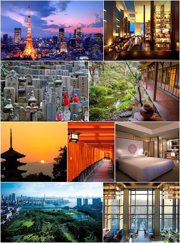 Vos hôtels au Japon