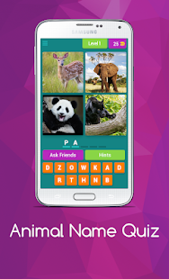 Download free Animal Name Quiz for PC on Windows and Mac apk screenshot 1