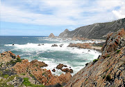 Don't expect  long walks on sandy beaches on the Kranshoek Coastal Walk - it's rough and rugged terrain.