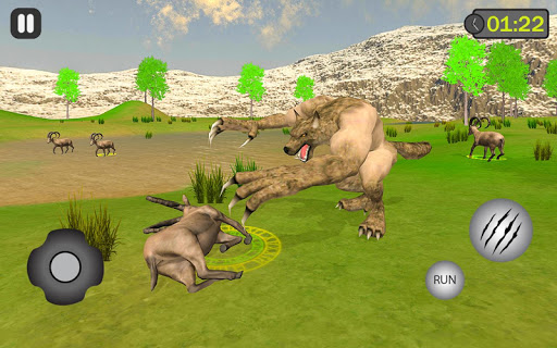 jungle werewolf monster rpg -bigfoot forest hunter android2mod screenshots 1