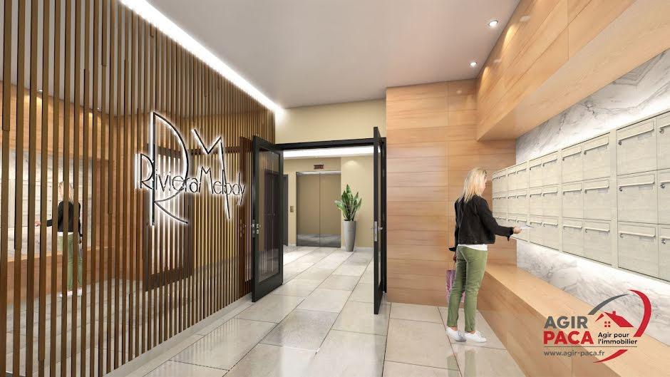 Vente appartement 2 pièces 43 m² à Juan les pins (06160), 266 000 €