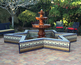 Photo: Malibu Tile Works - Fountain -  Private Residence - Long Beach, CA