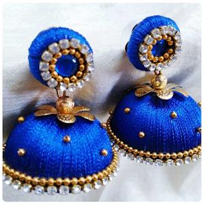 Latest Silk Thread Jewelry