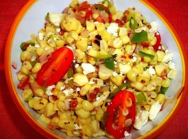 Cassies Grilled Sweet Corn Salad