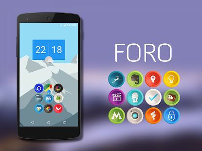 Foro - Icon Pack Screenshot