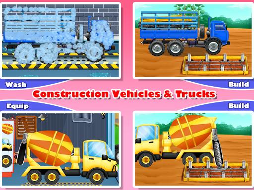 Construction Vehicles & Trucks - Games for Kids 1.8.1 screenshots 11
