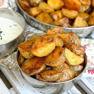 Roasted Harissa Potatoes