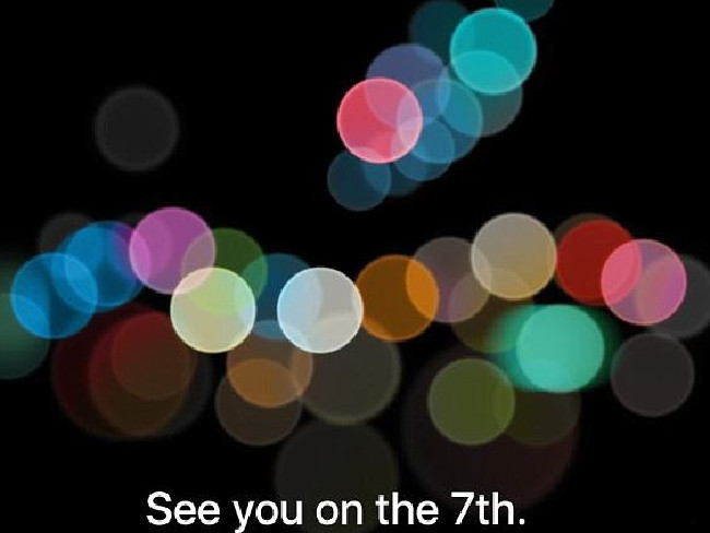 Apple has strongly hinted at the iPhone 7 launch on September 7.