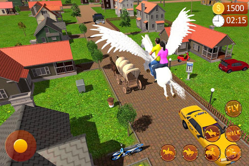 PC u7528 Flying Horse Taxi Driving: Unicorn Cab Driver 1