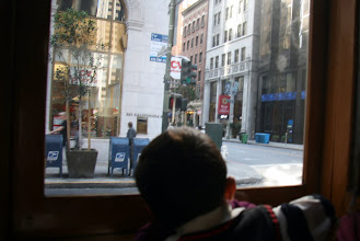 Photo: Our first trip was on the California Street line.